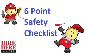 Hire Here Ltd Dublin DIY and Home Repair Safety Checklist