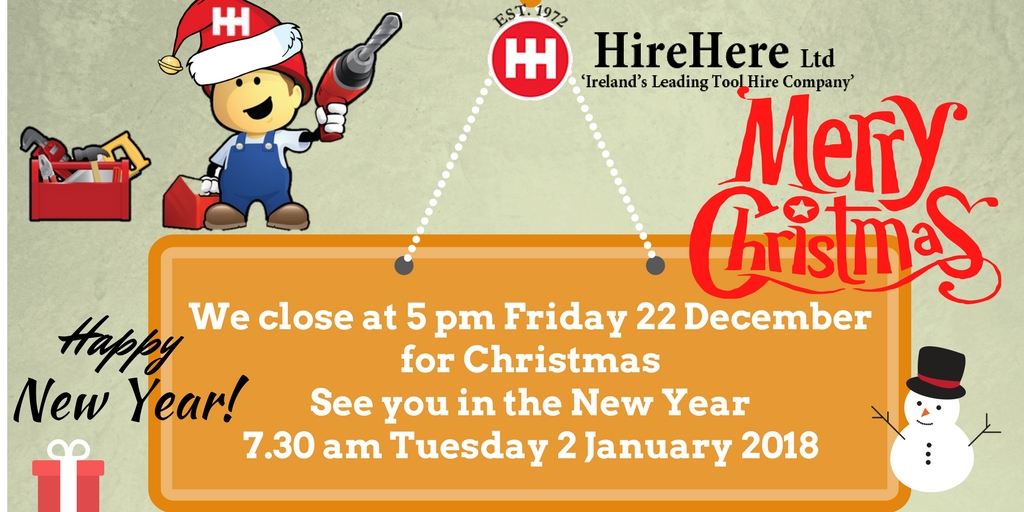 Happy Christmas from Hire Here Ltd Dublin