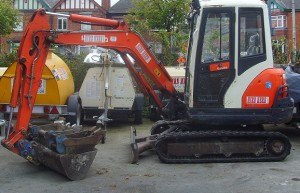 mini digger 3 tonne for hire at Hire Here Dublin