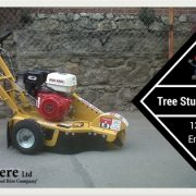 13 hp tree stump grinder