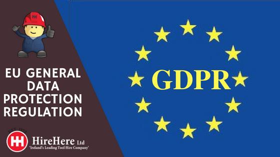 Hire Here Dublin Ltd gdpr update