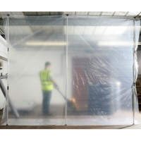 Protective Screen Quickprop Dust Partition