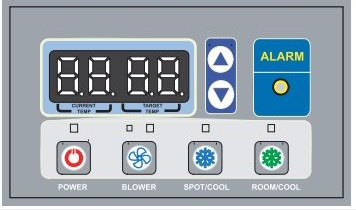 Hire Here Ltd Dublin large air conditioner digital control display panel