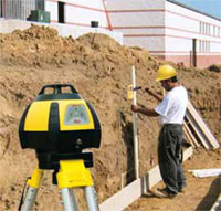Line Level External Footings and Foundations Hire Here Ltd Dublin