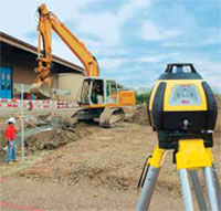 Line Level External Depth Control of Sub-base Hire Here Ltd Dublin